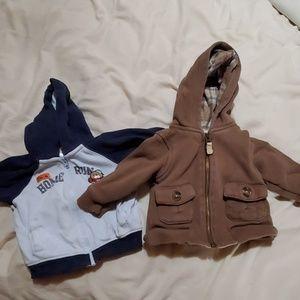 2 hoodies